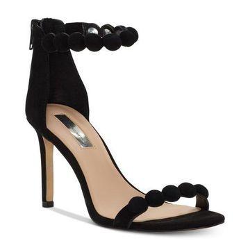 INC International Concepts Womens Gabbye Leather Open Toe