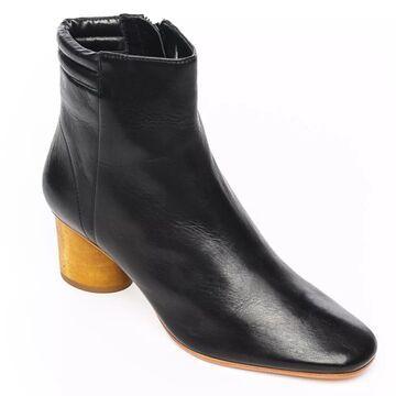 Bernardo Leather Ankle Booties - Izabella