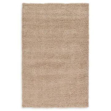 Unique Loom Solid Shag 5' x 8' Area Rug in Taupe