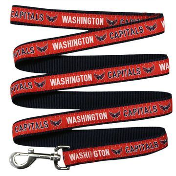 Pets First Washington Capitals Dog Leash, Medium, Multi-Color