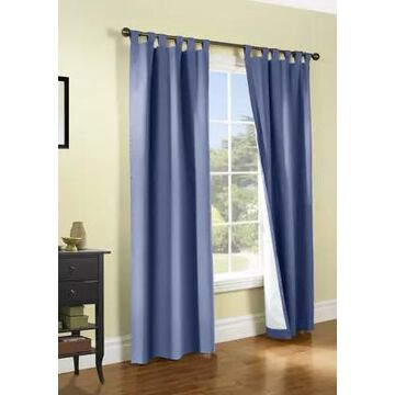 Commonwealth Home Fashions Weathermate Tab Top Panel Curtain Pair -