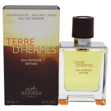 Terre DHermes Eau Intense Vetiver by Hermes for Men - 1.6 oz EDP Spray