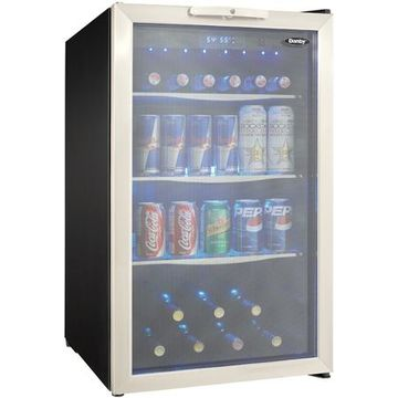 Danby 4.3 Cu Ft Stainless Steel Beverage Center