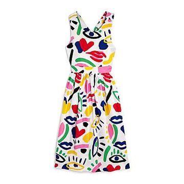Stella McCartney Girls' Graphic Print Dress - Little Kid