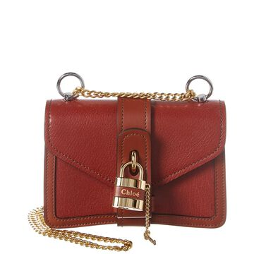 Chloe Aby Chain Mini Leather Shoulder Bag