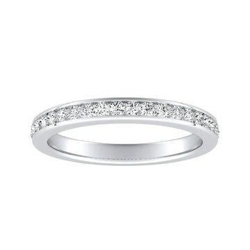 Auriya 1/4ctw Diamond Wedding Band Platinum