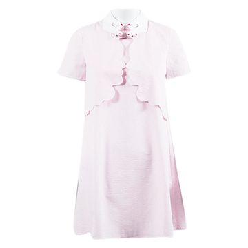 Vivetta Pink Cotton Dresses