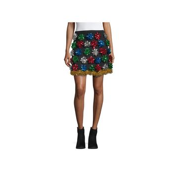 City Streets Womens Flared Skirt-Juniors Plus