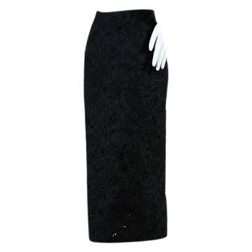 Vivetta Black Cotton Skirts