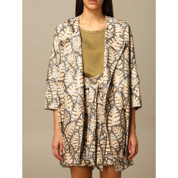 Manila Grace printed blazer