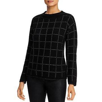 Karl Lagerfeld Paris Grid Sweater