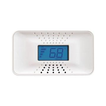 First Alert CO710 Carbon Monoxide Detector with 10-Year Battery and Digital Temperature Display