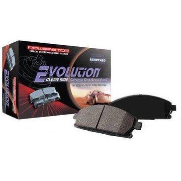Power Stop 16-1076 Clean Ride Ceramic Brake Pads - Front