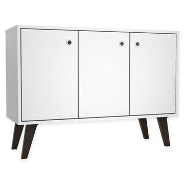 Manhattan Comfort Bromma Sideboard/Buffet in White