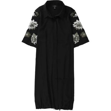 Alfani Womens Bungee Shirt Dress