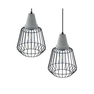 Southern Enterprises Pipit Cage Pendant Lamp 2 Piece Set