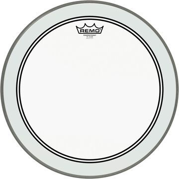 Powerstroke 3 Clear Bass Drum Head with Impact Patch