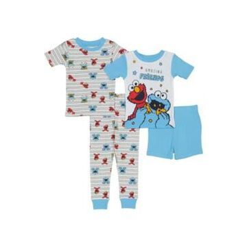 Sesame Street Toddler Boys Cotton 4 Piece Set