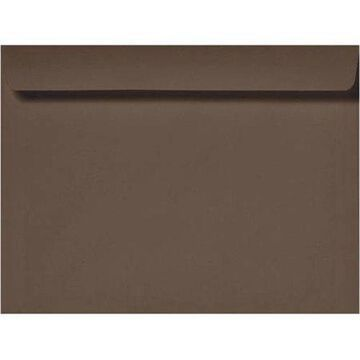 6 x 9 Booklet Envelopes - Chocolate (250 Qty.)
