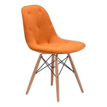 Zuo Modern Probability Dining Chair, Orange