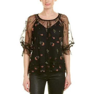 Anna Sui Embroidered Top