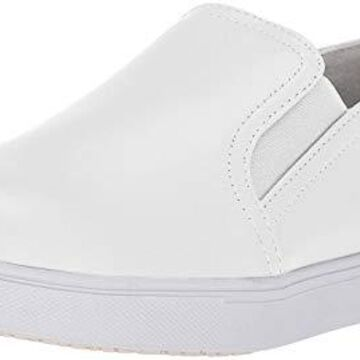 Propet Women's Nyla Loafer, White, 9.5 Wide US