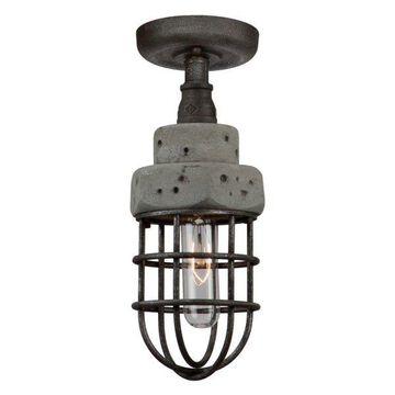 Loft 1-Light Semi Flush
