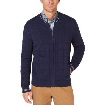 Club Room Mens Zip-Front Cardigan Sweater