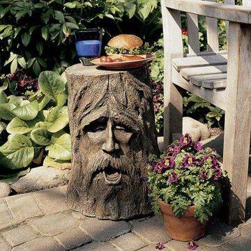 Design Toscano The Odin Tree Stump Sculptural Table