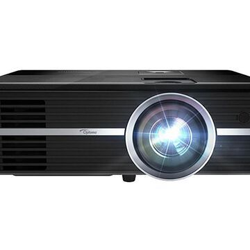 Optoma Black Voice Assistant-Compatible 4K UHD Projector