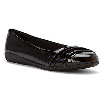 Walking Cradles Women's Flick Black Soft Patent 6.5 Wide US