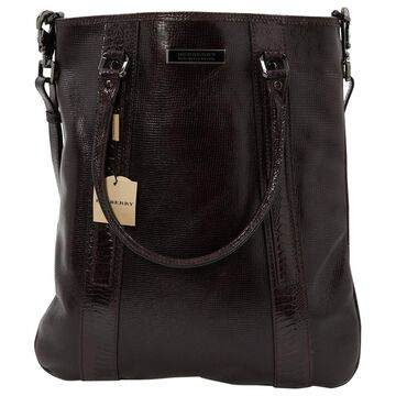 Burberry Black Leather Bag