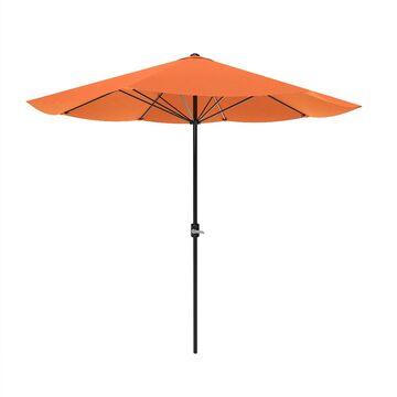 Pure Garden Orange Patio Umbrella