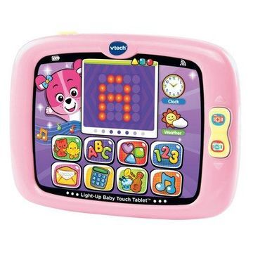 VTech Light-Up Baby Touch Tablet - Pink