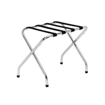 Honey Can Do Collapsible Chrome X-Frame Luggage Rack