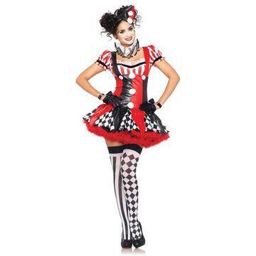 Leg Avenue Women's Harlequin Clown Costume