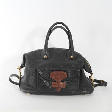 Loewe Brown Leather Handbag