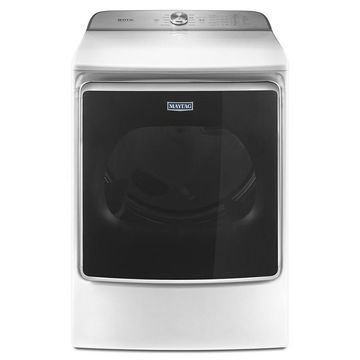 Maytag 9.2-cu ft Electric Dryer (White) ENERGY STAR
