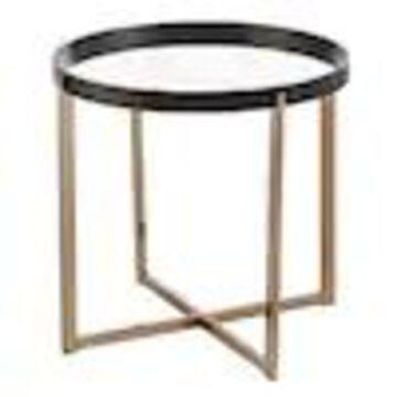 Boston Loft Furnishings Menteria Mirror Mirror End Table