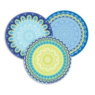 Eureka EU-841355BN Blue Harmony Paper Cut Outs - Pack of 6