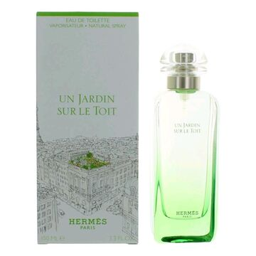 Un Jardin Sur Le Toit by Hermes, 3.3 oz EDT Spray for Women