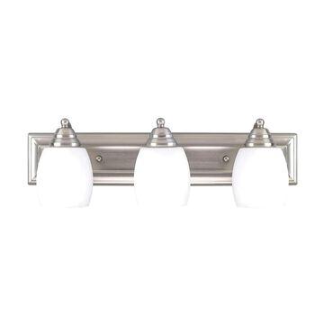 Canarm Griffin 3-Light Pewter Traditional Vanity Light Bar | IVL259A03BPT