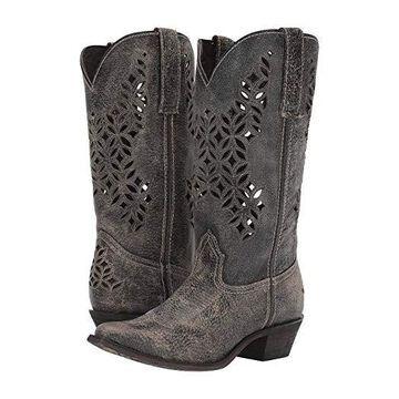 Laredo Chopped Out (Grey) Cowboy Boots