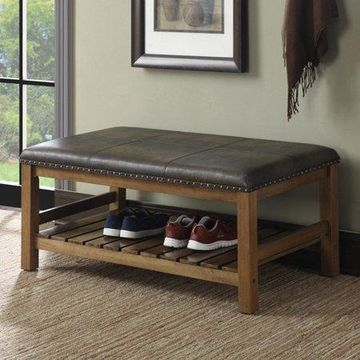 Convenience Concepts Tucson Storage Bench