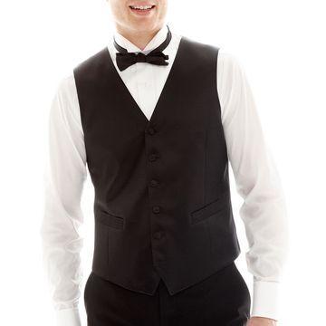 JF J. Ferrar Tuxedo Vest - Slim