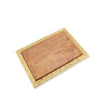Wood/Metal Cheese Board