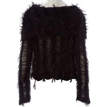 John Galliano \N Black Wool Knitwear