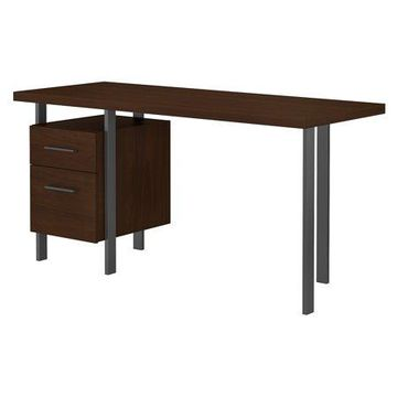 Bush Furniture Architect 60W Writing Desk with Drawers
