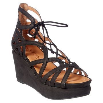 Gentle Souls Joy Leather Wedge Sandal