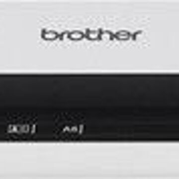 Brother - DS-620 Mobile Color Page Scanner - White